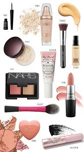 easy everyday makeup routine i love this all these beauty s and the best part