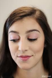 blush as eyeshadow highlighter bronzer