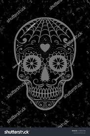 Vector Mexican Sugar Skull Day Dead Stock Vector Royalty Free