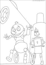 Small Picture 48 best Robot Coloring Pages images on Pinterest Free coloring