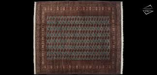12x14 fine bokhara square rug