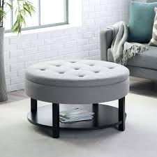 upholstered coffee table with storage upholstered storage ottoman