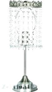 black chandelier table lamp crystal style tadpoles shade attractive cute within lamps design chan black chandelier table lamp