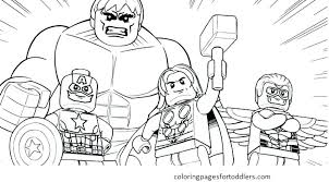 Avengers Infinity War Characters Coloring Pages Colouring Pdf Free