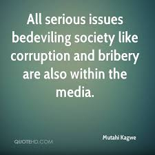 Corruption Quotes Cool Mutahi Kagwe Quotes QuoteHD