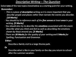 describe a family to a large theme park ppt video online  3 descriptive