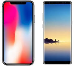 iphone or samsung. counterpoint expects apple will sell 130 million iphone x units, earning samsung $110 on each through the summer of 2019, while galaxy s8\u0027s global sales are iphone or