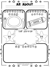 Small Picture All About Me coloring pages Free Printable All About Me coloring