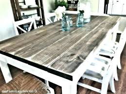 solid reclaimed wood dining table barn wood dining tables barn wood dining room table paint rustic