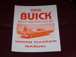 1966 buick wiring diagram manual gs skylark special 66 image is loading 1966 buick wiring diagram manual gs skylark special