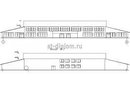 Дипломный проект ПГС торговый центр Торговый центр в г Владимир
