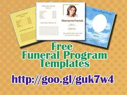 Funeral Templates Free Delectable Funeral Card Template Microsoft Word Program Templates Editable