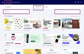 4 to a page template the different types of lead page templates leadpages knowledge base