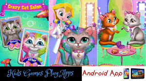crazy cat salon furry makeover game app for android kitty