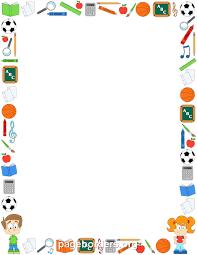 Preschool Page Borders Preschool Borders Free Download Clip Art Carwad Net
