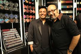 mickey contractor m a c s director of make up artistry and sonia sarwate