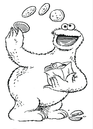 Quoet Sesame Street Printable Coloring Pages H4706 Sesame Street