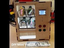 Pluto Gets The Paper Vending Machine Fascinating DIY Arcade Cabinet Kits More Arduino Vending Machine Arduino