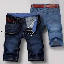 <b>Summer</b> Denim Shorts Men's <b>Thin Section</b> Loose Five-point Pants ...