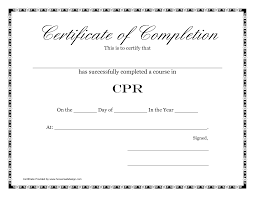 Printable Certificates Of Completion Free Printable Certificates Of Completion Template Sample For 24