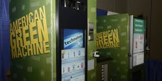 Colorado Marijuana Vending Machine Impressive The Futuristic Weed Vending Machine That Wants Your Fingerprint