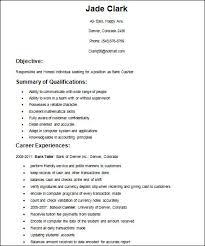 Resume Format For Cashier Basic Sample Resume Format Company Resume