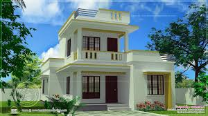 Simple Building Design Pictures Simple Flat Roof Home Design In 1305 Sq Feet Simple House
