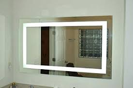 lighted vanity wall mirrors x inch wall mirror amazon lighted vanity led mercial grade rding