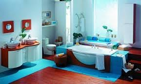 red bathroom color ideas. Red And Blue Bathroom Color Ideas