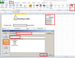 purchase order excel templates export purchase order data to ms excel template with dynamics ax