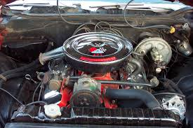 1968 Impala SS427 Engine Details