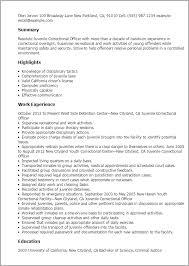 nurse resume skills nursing resume skills best sample resume professional  juvenile correctional officer templates to showcase