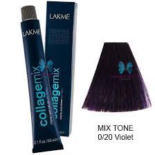 Lakme Collagemix Creme Hair Color 2 1 Oz Mix Tone 0 20