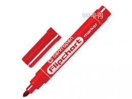 <b>Маркер</b> Centropen 2.5mm Red 8550/1К
