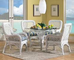 outdoor white wicker furniture nice. White Wicker Dining Set Lanai 169500 Outdoor Furniture Nice M