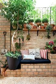 garden brick wall covering ideas backyard projects for creating cool or yard amazing