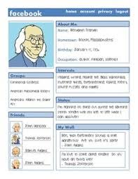 facebook template for student projects. Facebook All About Me Back to School Activity iTeach Pinterest