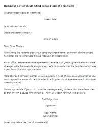 Block Form Business Letter Full Block Format Letter Meaning Modified Block Format Letter