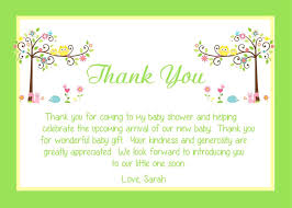thank you card baby shower baby shower thank you card wording ideas postcard baby shower invitations
