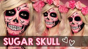 sugar skull makeup face paint tutorial how to face paint you