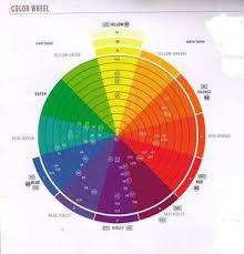 Hair Color Wheel Chart Professional Hair Color Wheel Help With Self Hair Coloring