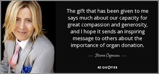 TOP 40 ORGAN DONATION QUOTES AZ Quotes New Donation Quotes