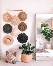 20 diy hat rack ideas for beautiful