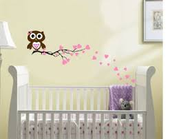 This Little Owl Is So Cute Sitting Atop Branch With Hearts
