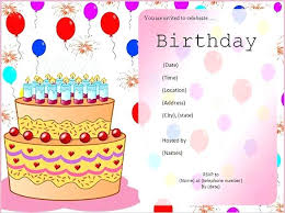 Templates For Birthday Cards Birthday Card Template Free Download 60th Invitation
