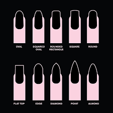 Acrylic Nail Shapes 2016 Clipart Images Gallery For Free