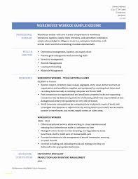 valet parking resume samples resume examples for warehouse worker inspirational valet parking