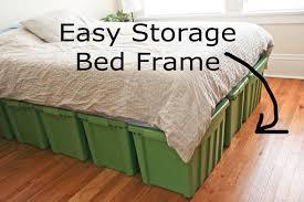 Ellies Wonder A Rubbermaid Bed Frame
