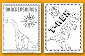 I do not know but in any case, they are always a nice subject to color ! Dinosaur Coloring Pages Life Is Sweeter By Design