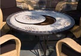 propane fire pit table with chairs. image of: real flame mezzo round propane fire pittable in antique white pit table with chairs u